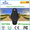 WIFI Super 720 Degree Vr Camera Double Wide Angle Lens 360 Camera Video 360 Camera VR Camcorder