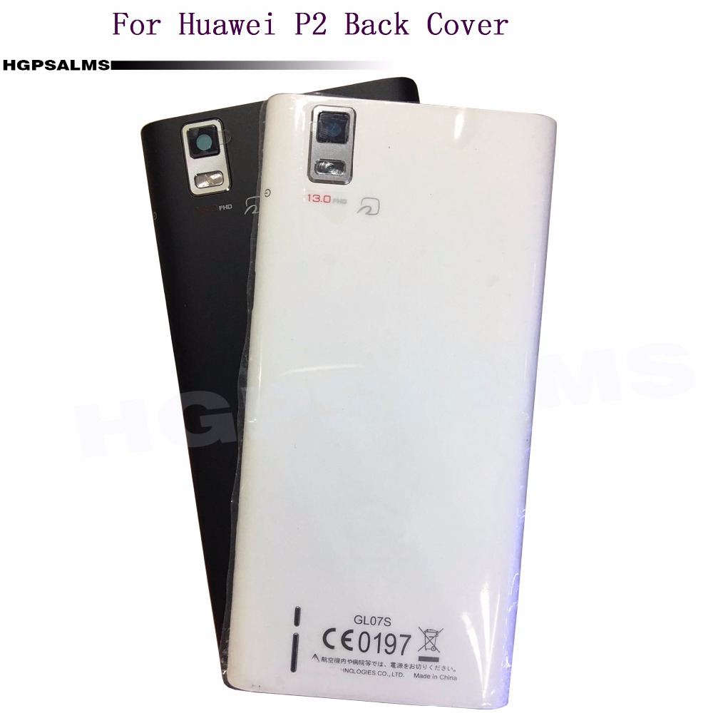 best sneakers 732e3 8fa2d US $7.01 5% OFF|For Huawei P2 Back Battery Cover Door Rear Housing Case  Replacement Parts-in Mobile Phone Housings & Frames from Cellphones & ...