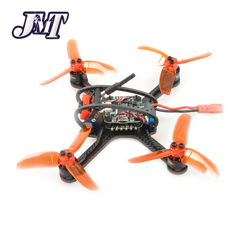JMT Leader-120 120mm Carbon Fiber DIY Mini FPV Racing Quadcopter Receiver Drone Camera OSD F3 Brushless BNF Combo Set jmt x180 diy bnf assembled frame kit with osd fpv hd cam frysky d8 rx battery superlight mini rc racing drone f21233 b