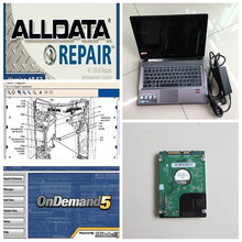 alldata auto repair software 10.53 and mitchell on demand 2015 car repair 2in1 with 1tb hdd installed well in new laptop z485