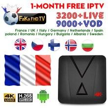 UK France IPTV MX10 mini 1 month IP TV Portugal Italian French Subscription 4K Smart Box Italy Spanish Germany