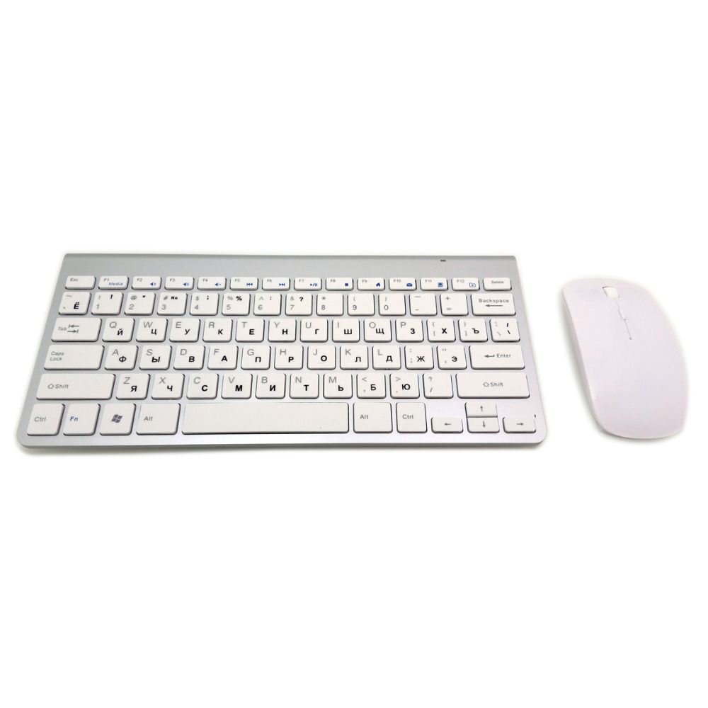 Ultra-Thin Wireless Keyboard Mouse Combo  3