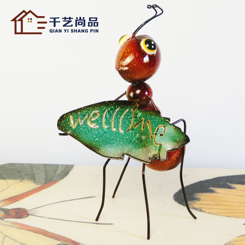 The living room decoration bridal iron ant pastoral animal Home Furnishing exquisite toys children opened decoration The living room decoration bridal iron ant pastoral animal Home Furnishing exquisite toys children opened decoration