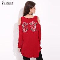 2017 Spring Autumn Women Long Sleeve Blouse Tops Casual Elegant Lace Floral Emboridery Blusas Femininas Sexy