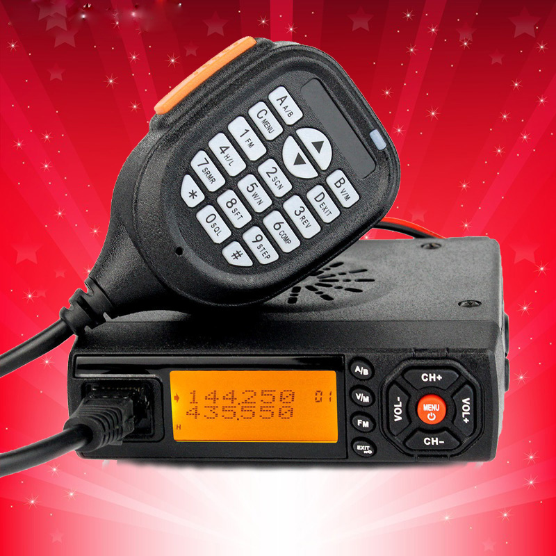 BaoJie BJ-218 Mini Car Radio Mobile VHF UHF 25W  VHF UHF Mobile BJ218 vericle autoradio Sister KT8900 KT-8900R UV-25HXBaoJie BJ-218 Mini Car Radio Mobile VHF UHF 25W  VHF UHF Mobile BJ218 vericle autoradio Sister KT8900 KT-8900R UV-25HX