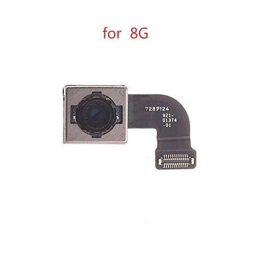 Back Rear Camera Flex Cable Ribbon Module Lens Flash Repair Parts Replacement For iphone 8  8G 8 plus