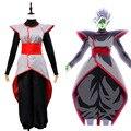 Dragon Ball Goku Súper Negro Zamasu Fusionado Potara Fusión Cosplay Fiesta de Halloween Novedad Precio Más Bajo a Finales De Año