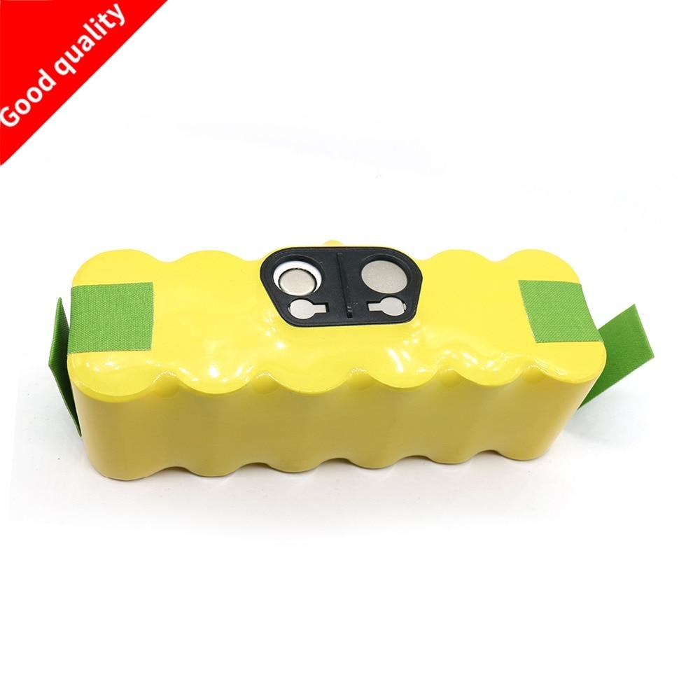 14.4V 4500mAh Ni-MH Vacuum Battery for iRobot Roomba 500 530 531 532 650 535 536 540 545 550 552 560 562 570 580 610 700 760 770