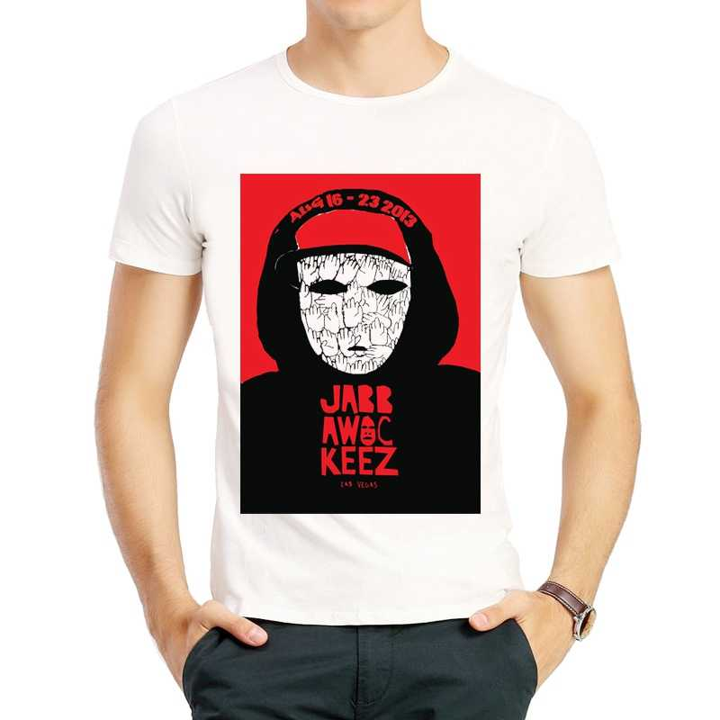 Jabbawockeez Tシャツファッション白色半袖ホットバンド Jabbawockeez ロゴ Tシャツトップ Tシャツシャツユニセックスバンド Tシャツ