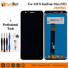 купить 5.5'' New LCD For ASUS Zenfone Max M1 ZB555KL LCD Display Panel Touch Screen Digitizer Glass Sensor Assembly Replacement Parts дешево