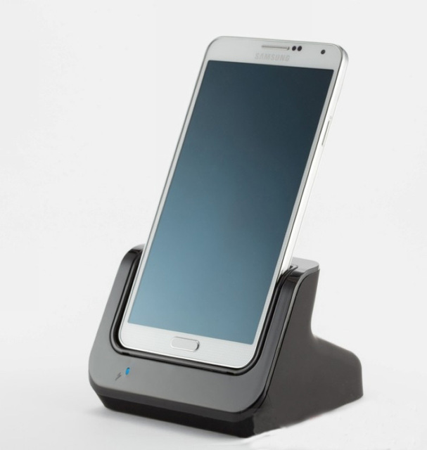 For Samsung Galaxy Note3 Note 3 Charger N9000 N9006 N9005 9008V Data Sync USB 3.0 Dual Charging Dock Station with Battery Charge