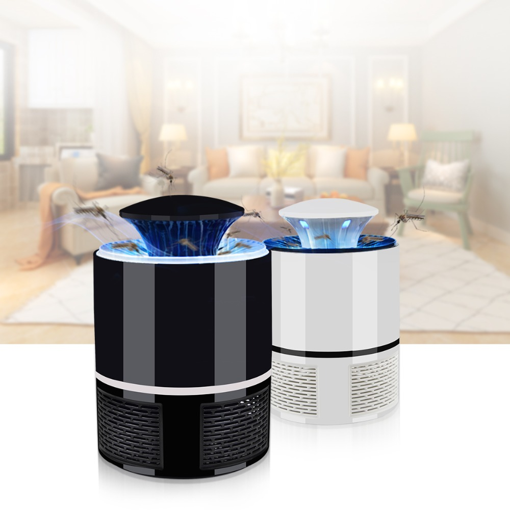 Electric Mosquito Killer light Bulb USB LED Insect Trap lamp Repeller Pest Control Anti Mosquito Fly Bug Zapper UV Night light best of house 4 cd