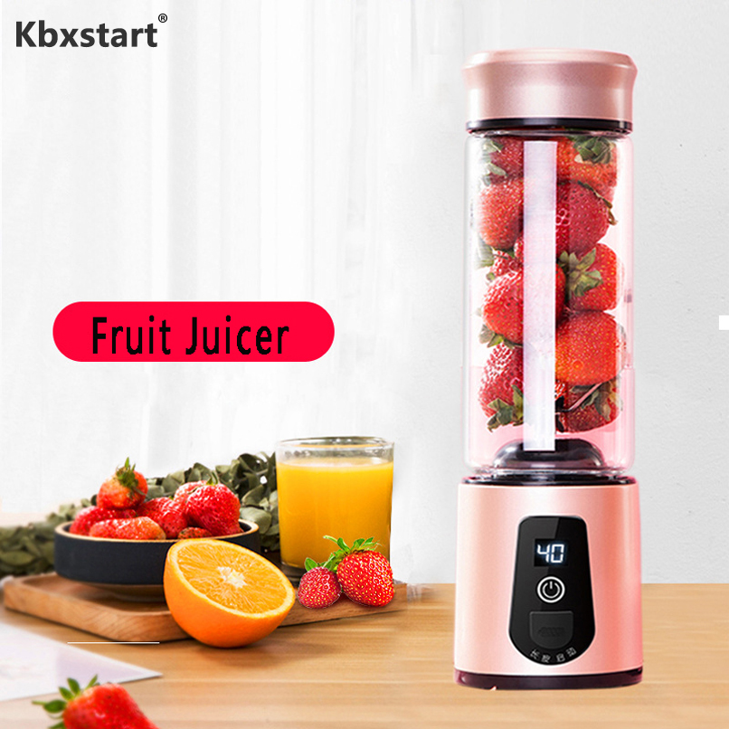 Mini Fruit Mixer Juicers Portable Electric Juicer Blender USB Fruit Extractor Multifunction Juice Maker Machine Batidora