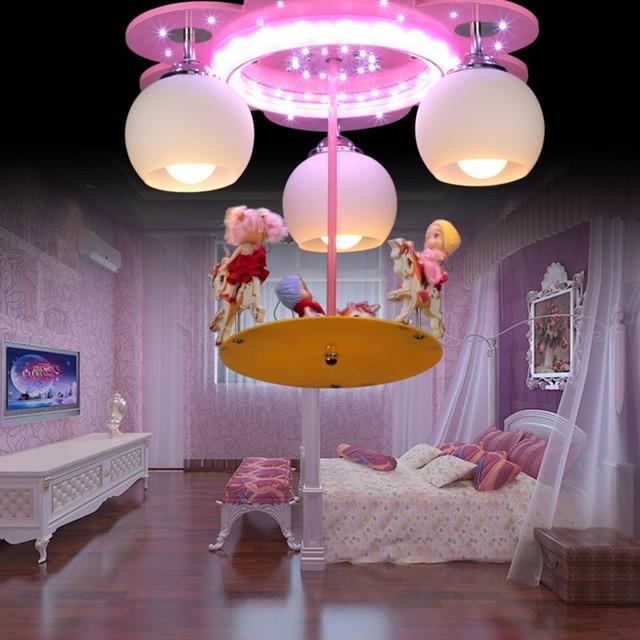kinderen cartoon hanglampen jongens en meisjes slaapkamer warm en