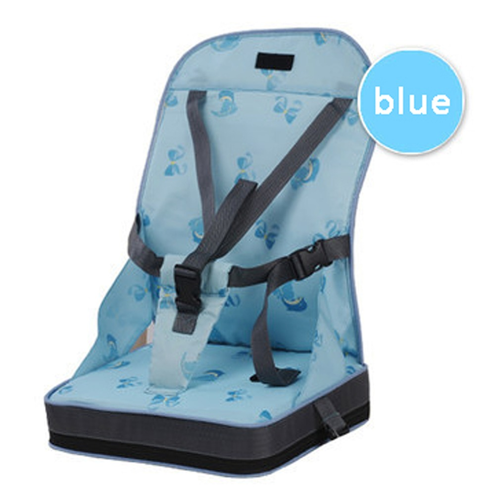 Booster High Chair Seat Us 22 78 Baby Feeding Chair Portable Booster Seat Toddlers Dining Baby Chair Seat Fold Up Safty Belt Infant Eating Chair In Booster Seats From