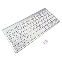 Israel Hebrew Keyboard High Quality Ultra-Slim Wireless Keyboard Mute Keycap 2.4G Keyboard for Mac Win XP 7 10 Android TV Box