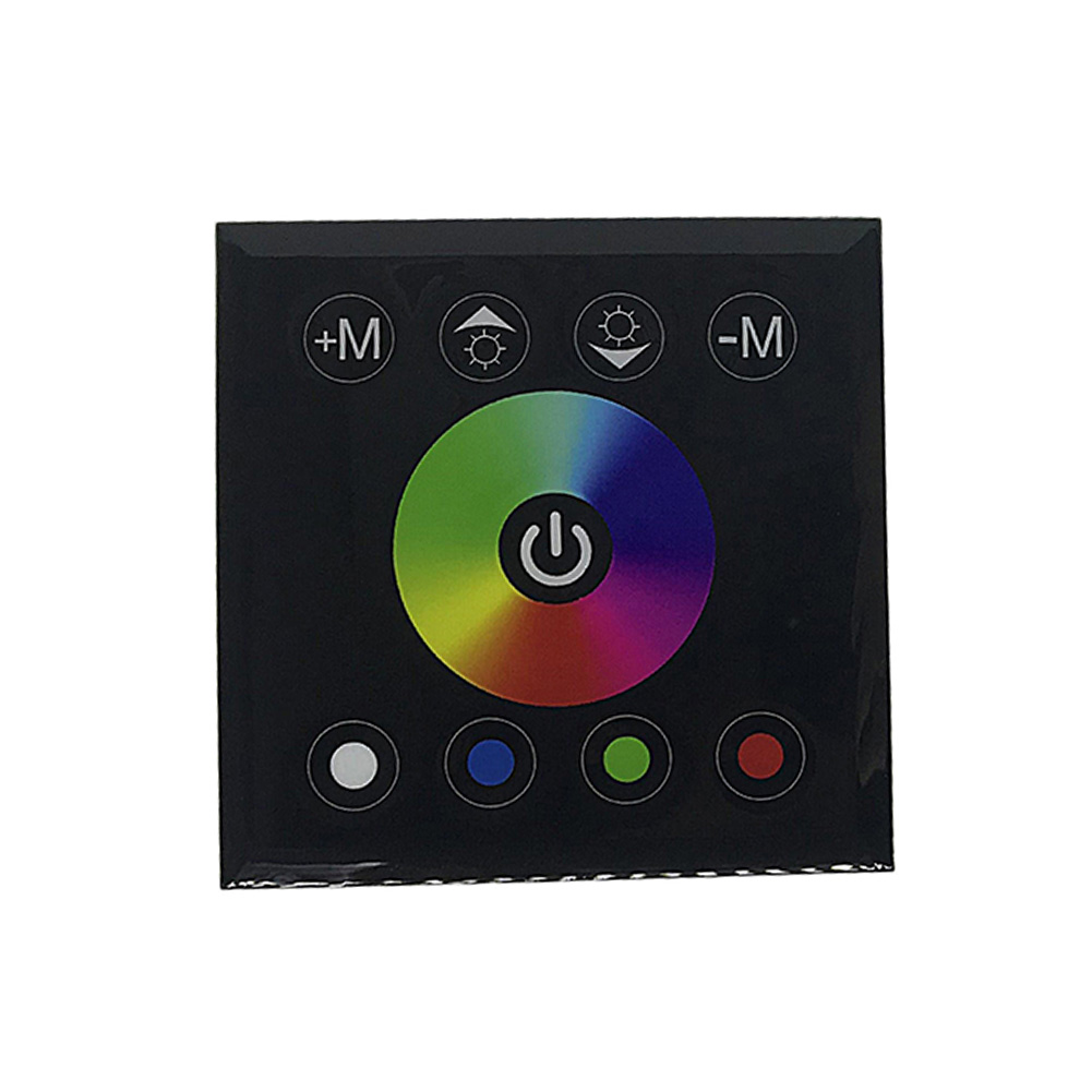 Adroit Wall Mounted Touching Panel Dimmer Controller Multipurpose Easy Install Lamp Accessories Ktv Rgbw Full Color Smart For Led Strip Bright In Colour