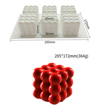 Art Cake Decorating Mold 3D Silicone Molds Baking Tools For Heart Round Cakes Chocolate Brownie Mousse Make Dessert Pan