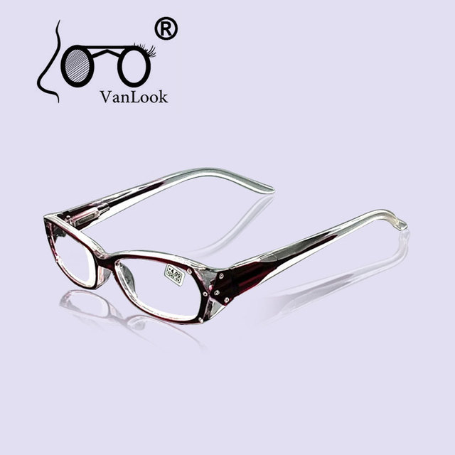 d5aebc6c62 Rhinestone Okulary Do Czytania Kobiet Gafas de Lectura Spektakle Ramek  Okularów Moda + 50 + 75