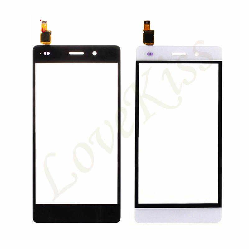 """5 """"P8Lite panneau avant pour Huawei P8 Lite ALE-L04 L21 TL00 L23 CL00 écran tactile capteur LCD affichage numériseur verre remplacement"""