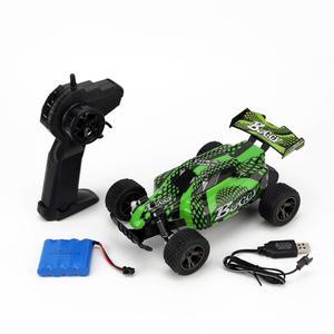 Image 5 - 1:18 RC Carro 4WD 2810 2.4G 20 KMH Alta Velocidade Corrida de Controle Remoto Carro de Escalada