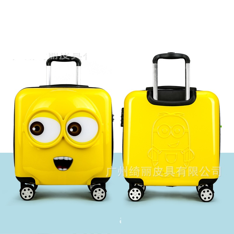 Popular Minions Child Luggage-Buy Cheap Minions Child Luggage lots ...