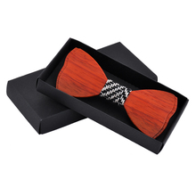 Classic Wooden Bow Ties Butterfly Style