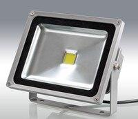 DHL ücretsiz 6 adet/grup 50 w led projektör 12 V dış mekan aydınlatma Bridgelux 50 w KOÇANı 24 V led projektör 3 yıl garanti