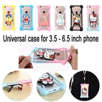 Universal Phone Case For IPhone 7 Plus 6 6S Plus Samsung S8 Plus S7 S6 Xiaomi