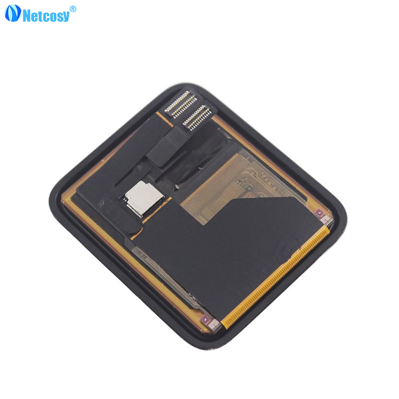 Netcosy LCD Display Touch Screen For Apple watch series 1 38mm 42mm LCD screen High quality Assembly Replacement Parts high quality laptop lcd for sony tap13 pro13 fit13 duo13 screen vvx13f009g00 vvx13f009g10 lcd display screen replacement repair