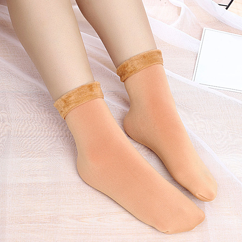HTB1Q4XjXZvrK1Rjy0Feq6ATmVXa0 - Thickening Cashmere Snow Socks Men Women's Autumn And Winter Warm Velvet Solid Casual Thermal Keep Sleeping Socks