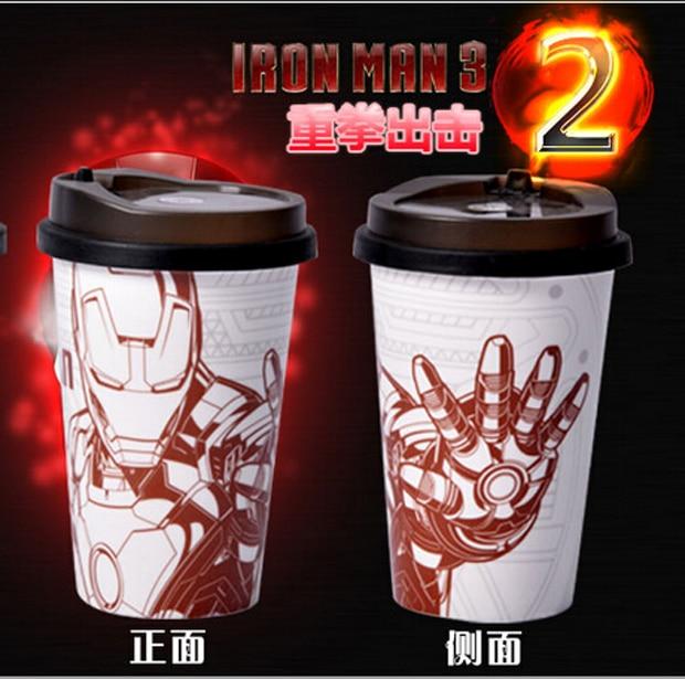 Whole Price Top Cool Marvellous Iron Man Bone Ceramic Coffee Cup