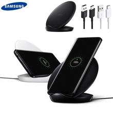 Original QI Fast Wireless Charger for Samsung Galaxy S9 S9 Plus S10+ S10E S8 S8 Plus S7 S7 edge IPhone XS MAX IPhone8 XR Mate20 цена и фото