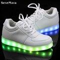 Hombres Zapatos Zapatos Para Hombre Led Schoenen Cesta Light Up Led Unisex Amantes Ocasionales Femme Chaussures Homme Luminoso Lumineuse Para Adultos