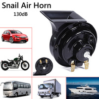 1Pair Universal DC 12V 130dB Waterproof Motorcycle Truck Car Snail Air Horn Siren Accessories DXY88
