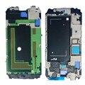 Оригинальная Передняя ЖК Передняя Корпус Рама Рамка Плиты Ближний Рамка Для Galaxy S5 G900F i9600 белого золота Синий Черный