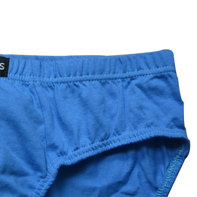 4pcs/lot 100% Cotton 4XL/5XL/6XL Men's Breathable Panties 4