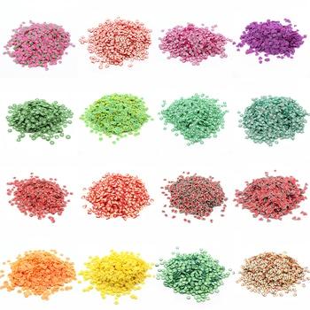 200Pcs Slime Adição de fatias de frutas macias para encantos Beads DIY Nail Mobile Beauty Powder in Slime Supplies Sprinkles 1
