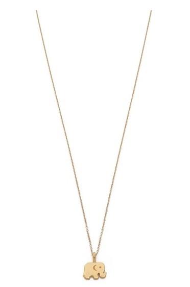 Mini Elephant Gold Necklace