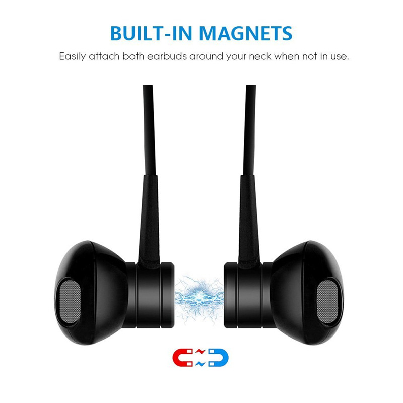 i8 Magic Magnet Waterproof Headphone Wireless Bluetooth Earphone Bass Stereo In-ear Headset with Micr Noise Cancelling Earbuds