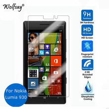 Wolfsay 2PCS Glass For Nokia Lumia 930 Screen Protector Tempered Glass