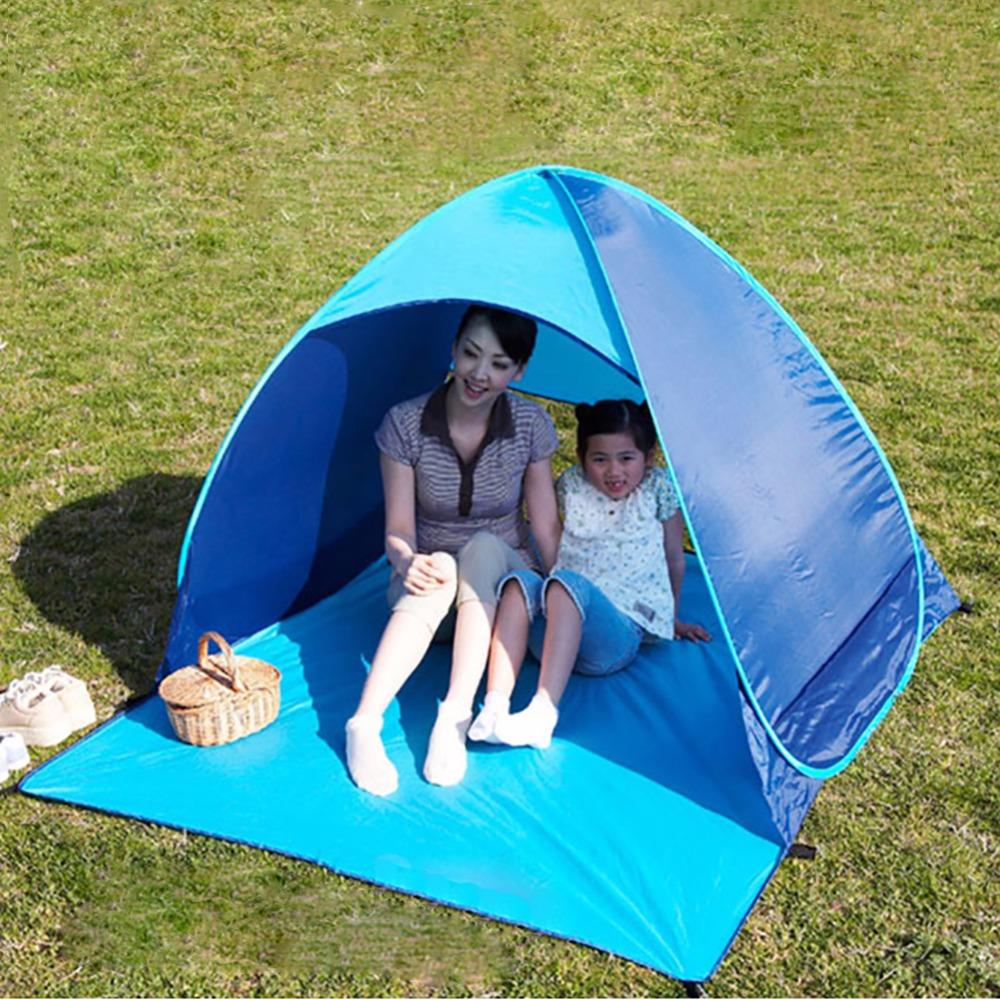 Outdoor Hiking C&ing Tent UV Protection Fully Automatic Sun Shade Quick Open Pop Up Beach Awning  sc 1 st  AliExpress.com & Online Get Cheap Uv Protection Beach Shade Tent -Aliexpress.com ...
