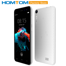 "Original HOMTOM HT16 Smartphone 3G WCDMA Android 6.0 Quad Core MTK6580 5.0"" Screen 1GB RAM 8GB ROM Dual Cameras Mobile Phone(China)"