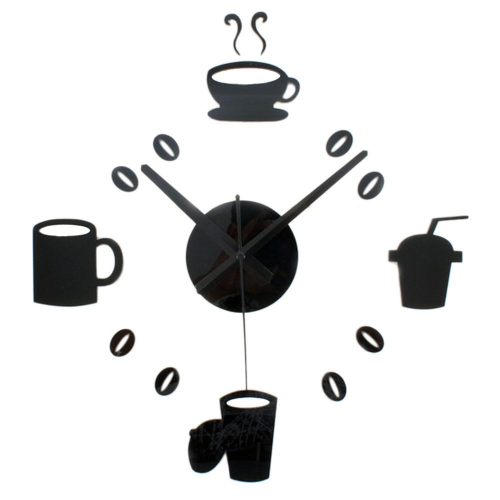 Kitchen Wall Clocks Modern Popular Kitchen Coffee Clock Buy Cheap Kitchen Coffee Clock Lots