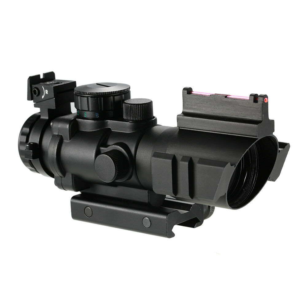 Image 4 - BOBLOV 4x32 Acog Riflescope 20mm Dovetail Reflex Optics Scope Tactical Sight For Hunting-in Riflescopes from Sports & Entertainment