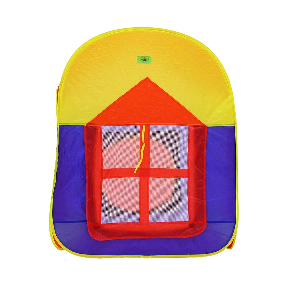 Enjoybay coloré pliable enfants tente jouer maison intérieure et extérieure facile pliage jeu maison Portable tente jouets pour enfants bébé - 5