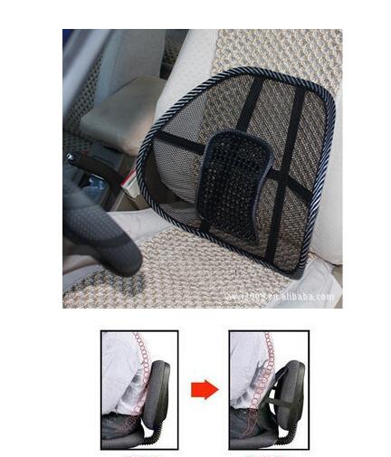 Comfortable Waist Support Car Seat Cover Sofa Cool Massage