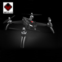 Impulls New 4CH Drone B5W with 5G 1080P Camera Dron GPS Positioning Surround Quadcopter Gifts for Ki Toys for Children FSWB