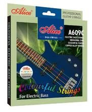 Alice A609C Electric Bass Strings Colorful Coated Copper Alloy Wound 4 Strings Accessories