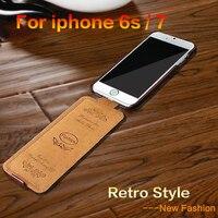 Для iphone 5 5s se чехол Роскошный флип Вертикальная мода PU кожа чехол для iphone 7 6 6s до вниз чехол для iphone 7 6s